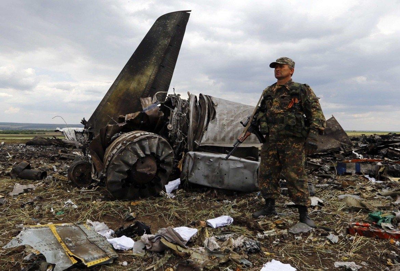 aAereo abbattuto in Ucraina