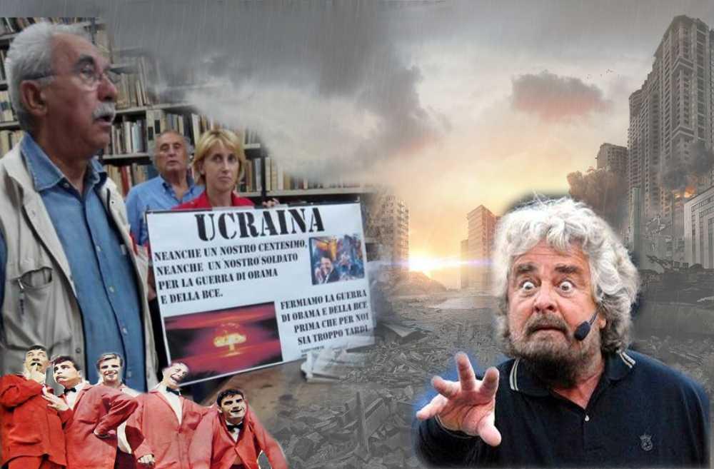 Ucraina. A Giulietto Chiesa che spera nel Movimento Cinque Stelle