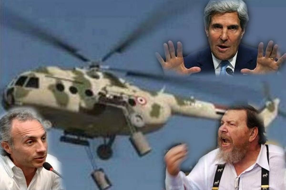 """L'ecumenica bufala del """"Cloro di Assad"""". Da """"Il Foglio"""" a """"Il Fatto Quotidiano"""""""