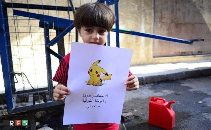 Pokemon dalla Siria